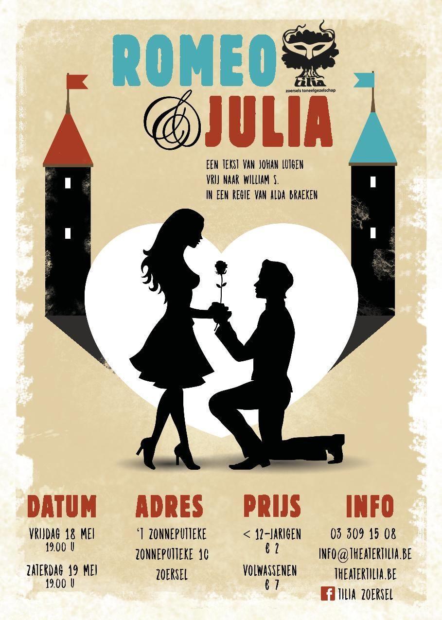 Volavondstuk Romeo Juliet Zoersels Toneelgezelschap Tilia